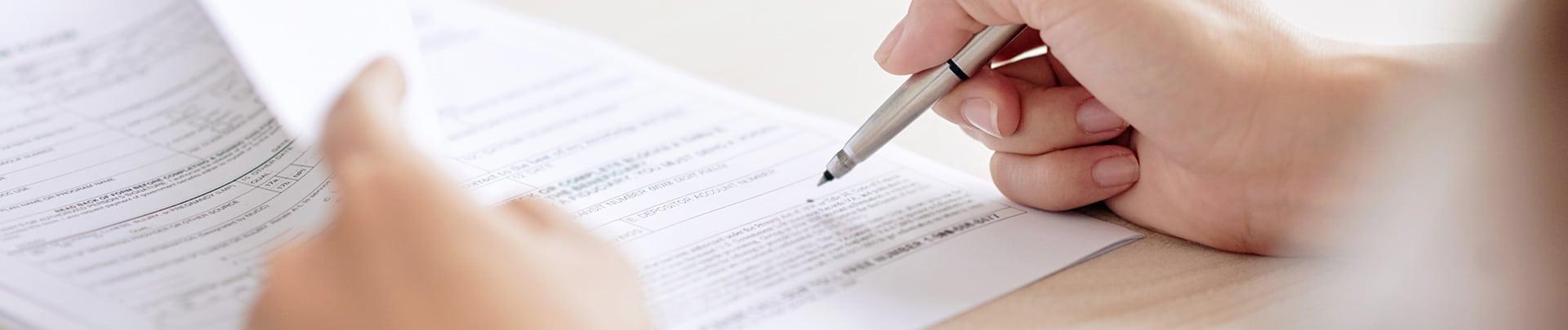 Vertragsschreiben